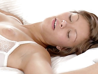 Passionate bedroom anal sex with mature lesbians Neve and Kaylee on Sapphic Erotica Bed