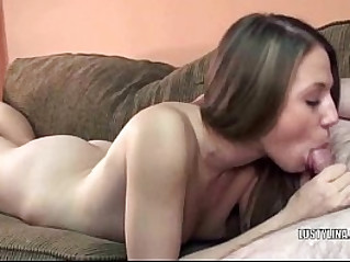 European Lina sucking an old dudes stiff cock