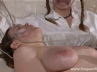 Carlys bizarre lesbian humiliation and medical nurse punishments of suffering