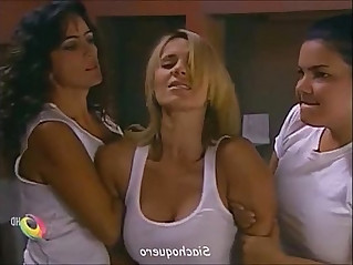 Catherine Siachoque molested and broken in prison by lesbian guard and inmates