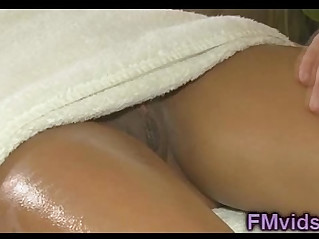 Chloe Amour hot massage